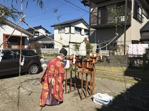 地鎮祭を行いました(^○^)